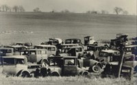 Joe's Auto Graveyard, Route 22 north of Bethlehem, Nov. 8, 1935