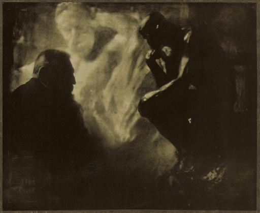 Rodin - Le Penseur, Paris, 1902