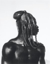 Djimon with Octopus, Hollywood, 1989