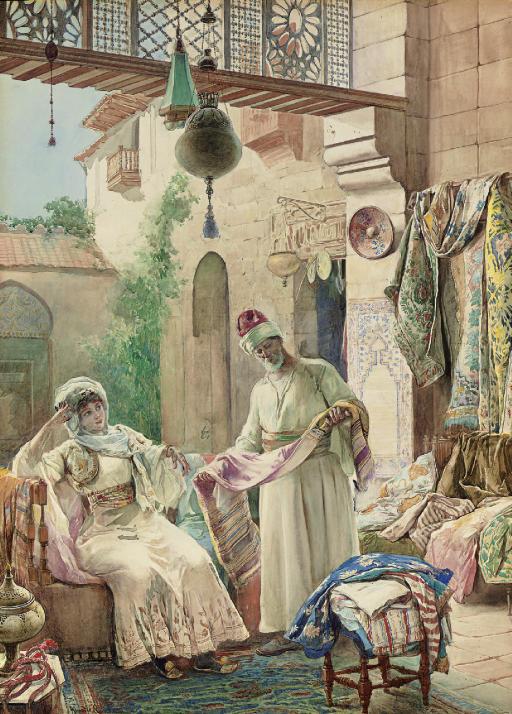 Presenting his Finest Fabrics