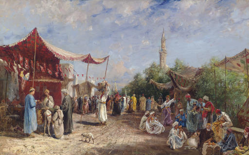 In the Souk, Egypt