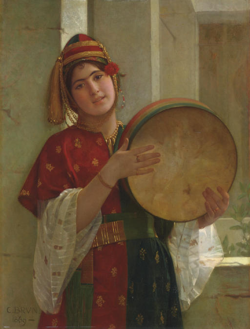 A Young Turkish Woman