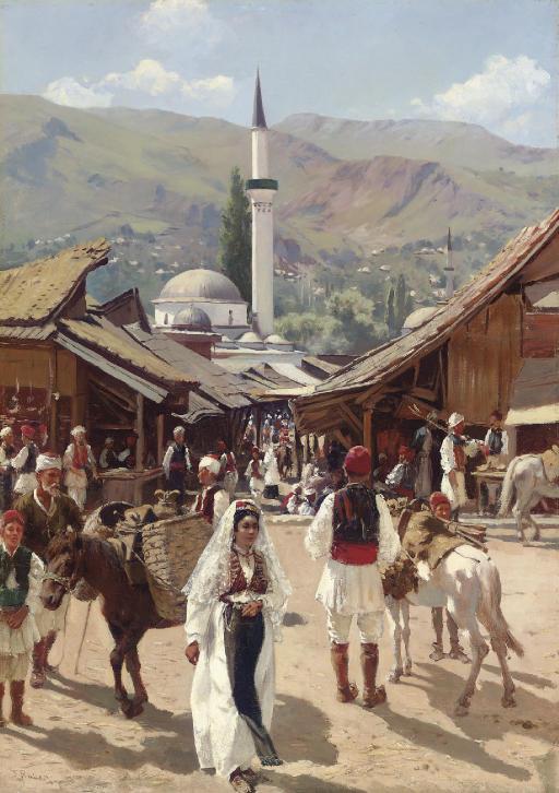 View of Bascarsija, Sarajevo