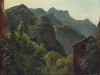 Versant de la vallée de Saint-Vincent (Auvergne)