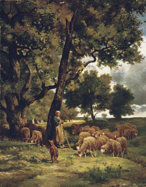 The Shepherdess and Her Flock
