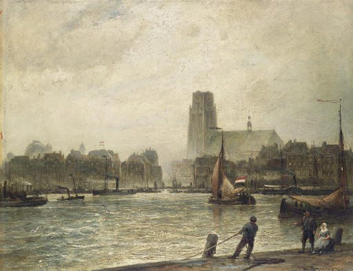 Rotterdam, seen from Fyenoord