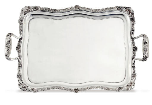 A RUSSIAN SILVER TWO-HANDLED T