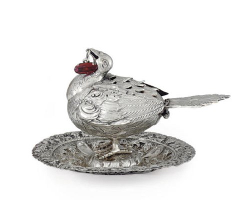 A SPANISH COLONIAL SILVER PERF