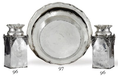 TWO SPANISH COLONIAL SILVER SE