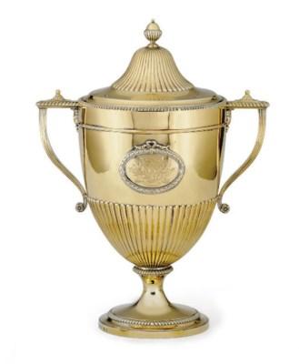 A GEORGE III SILVER-GILT CUP A