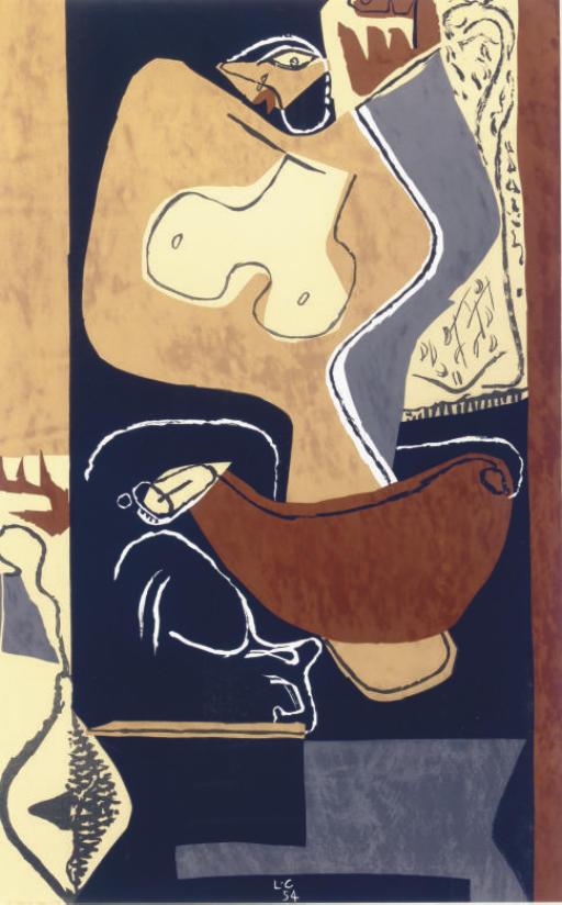 Femme à la main levée (W. 57)