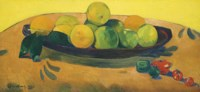Nature morte aux fruits et piments