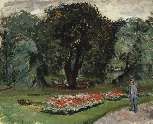 Figures dans le parc
