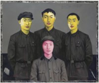 Bloodline Series: Mother with Three Sons (The Family Portrait)