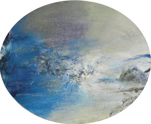 Zao Wou Ki (b. 1921)