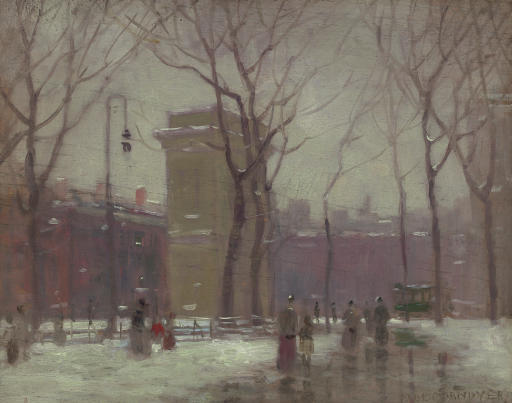 Paul Cornoyer (1864-1923)