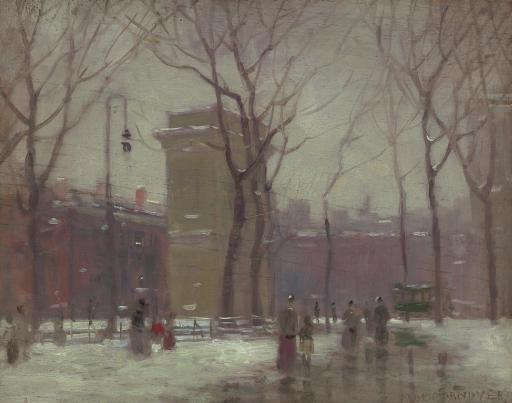 Winter, Washington Square