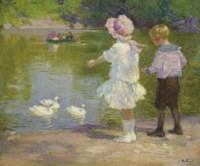 Children in Central Park