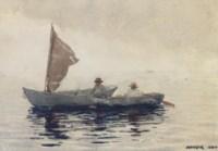 Boating Boys in Gloucester