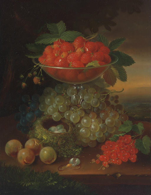 Still Life with Fruit and Nest of Eggs