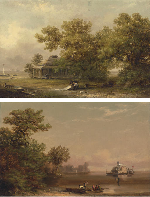 A South Carolina Coastal Scene and Hilton Head Port Royal, South Carolina: Two Works