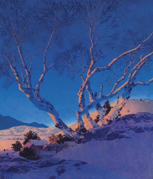 White Birches: Winter