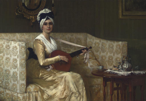 Francis David Millet (1846-191