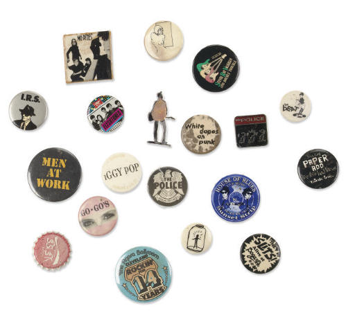 Rock and Roll Pin Collection