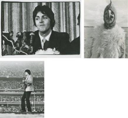Paul McCartney, George Harriso