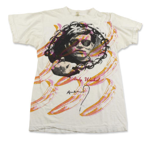Andy Warhol Signed T-Shirt