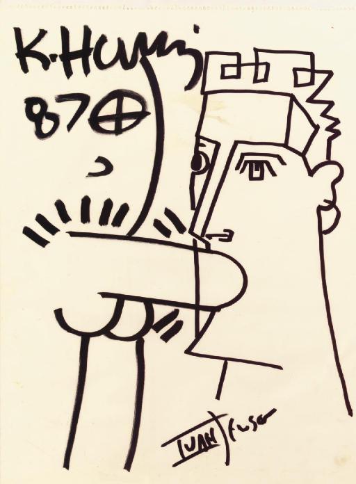 Keith Haring/Ivan Jenson Drawi