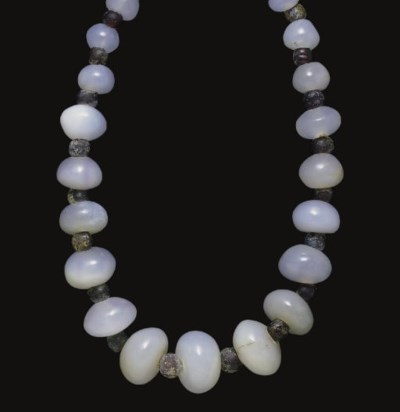 A ROMAN OR PARTHIAN CHALCEDONY