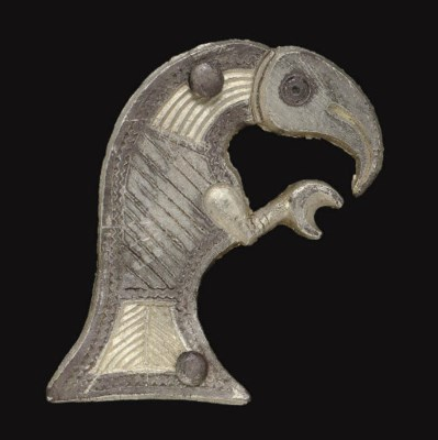A SCANDINAVIAN SILVER ATTACHME
