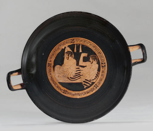 AN ATTIC RED-FIGURED KYLIX