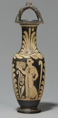 A CAMPANIAN RED-FIGURED BAIL-A