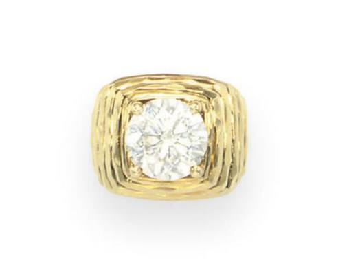 A DIAMOND RING, BY HENRY DUNAY