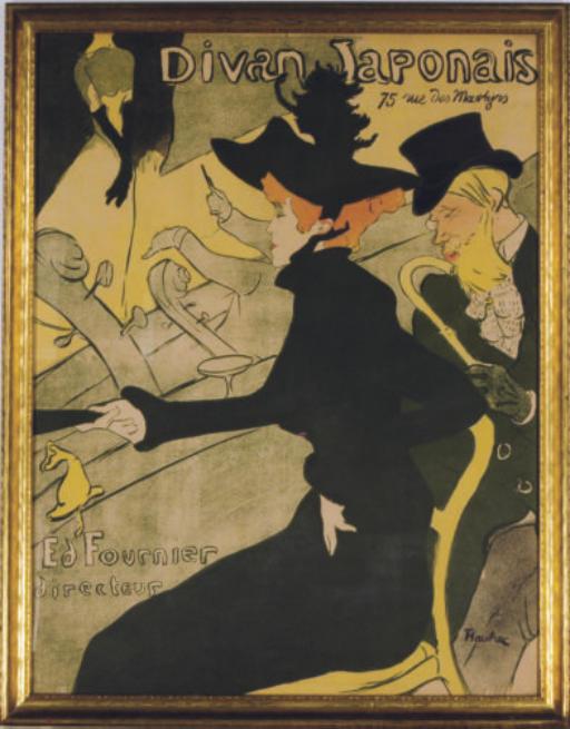 Henri de toulouse lautrec 1864 1901 divan japonais d for Divan japonais poster value