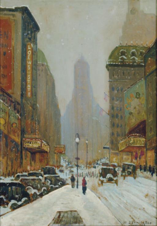 JACOB VANDERBILT (American, 20th Century)