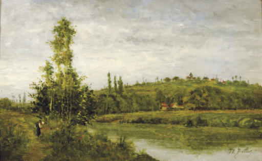 At the edge of the river