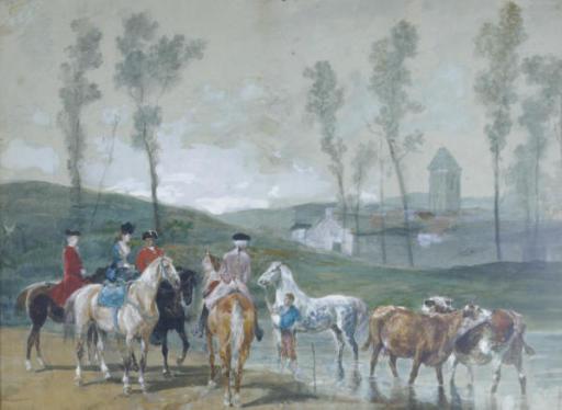 John Lewis Brown (French, 1829-1890)