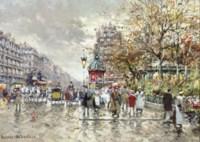 Rue La Fayette, Square Montholon, Paris