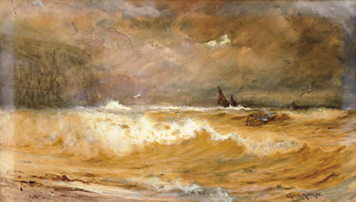 A Stormy sea