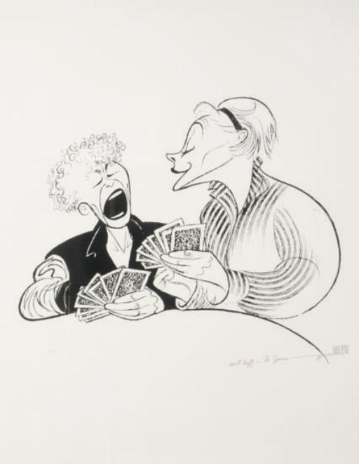 Albert Hirschfeld (AMERICAN, 1903-2003)