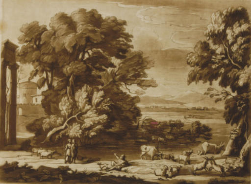 Richard Earlom (1743-1822) after Claude Le Lorraine (1600-1682)