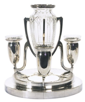 A CONTINENTAL SILVER-PLATED TH