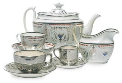 TWO ENGLISH LUSTERWARE TEA AND