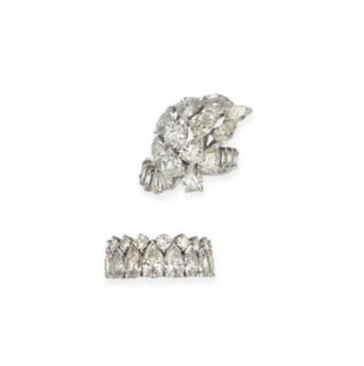 A GROUP OF DIAMOND AND PLATINU