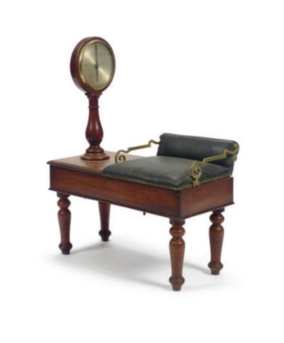A VICTORIAN WALNUT, BRASS AND