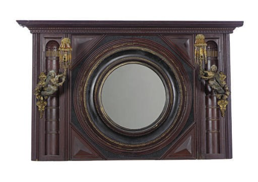 A VICTORIAN STAINED WOOD, EBON