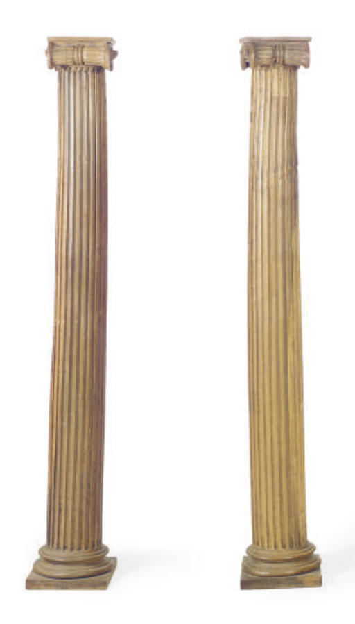 A PAIR OF OAK AND BEECHWOOD IO